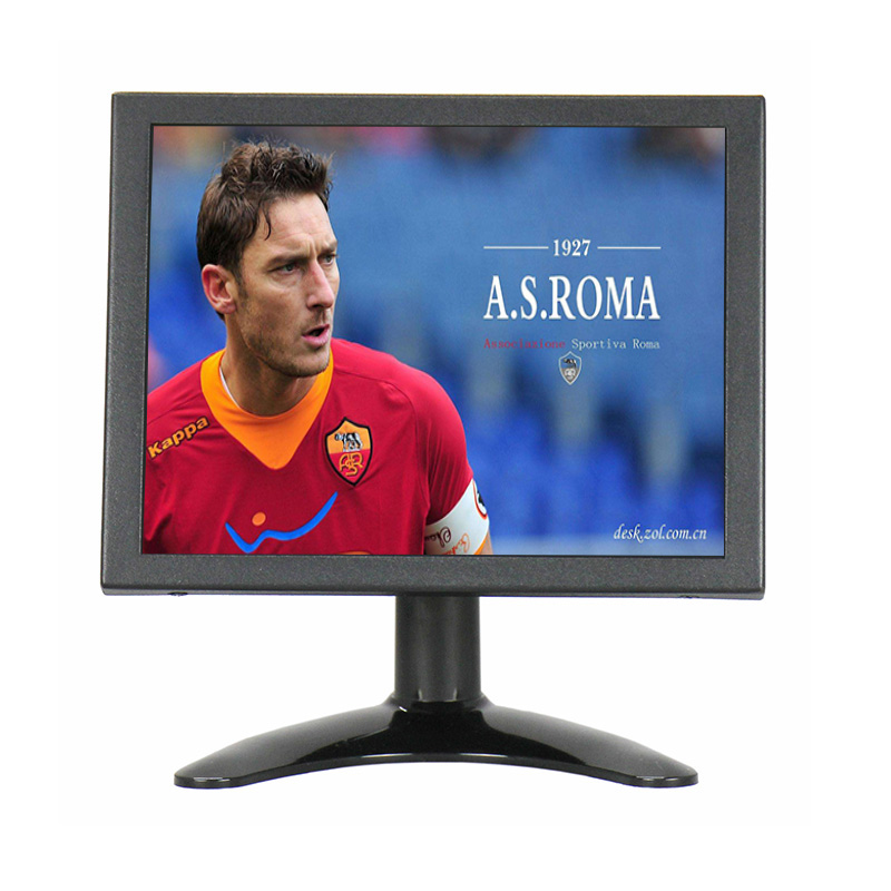 8 Inch 4:3 1024*768 Metal Shell 4 Wire Resistive Touch Screen Monitor 8 inch Multi-function Monitor VGA HDMI Touch Monitor 10 4 10 vga dvi interface non touch industrial control lcd monitor display 1024 768 metal shell hanger card installation 4 3