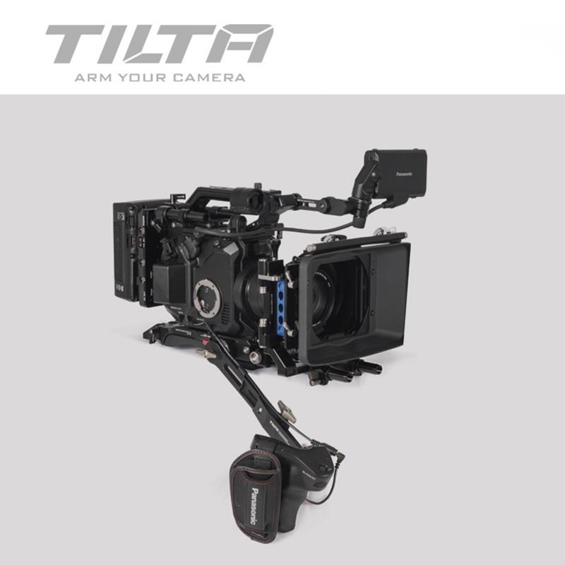 Cage de caméra Tilta ES-T86 pour Panasonic EVA1 plate-forme de fixation rapide plaque de base V support/Anton bras d'extension pour PANASONIC EVA1