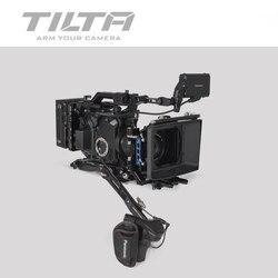Tilta ES-T86 camera cage for Panasonic EVA1 rig Quick Release Baseplate V mount/ Anton mount Extend arm For PANASONIC EVA1