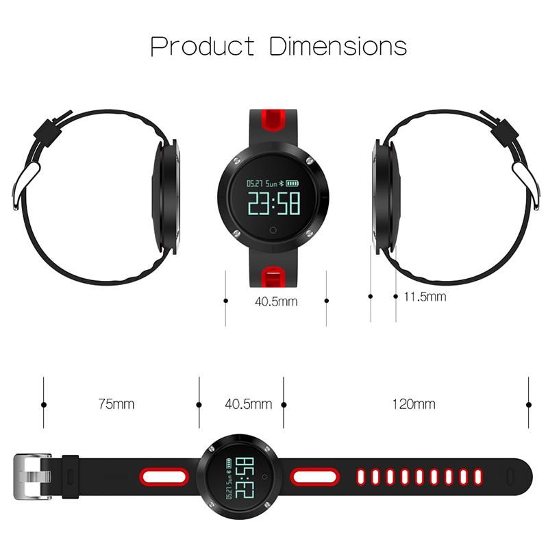 DM58 Mujeres Hombres reloj digital Deporte Bluetooth Smart Pulsera - Relojes para hombres - foto 2