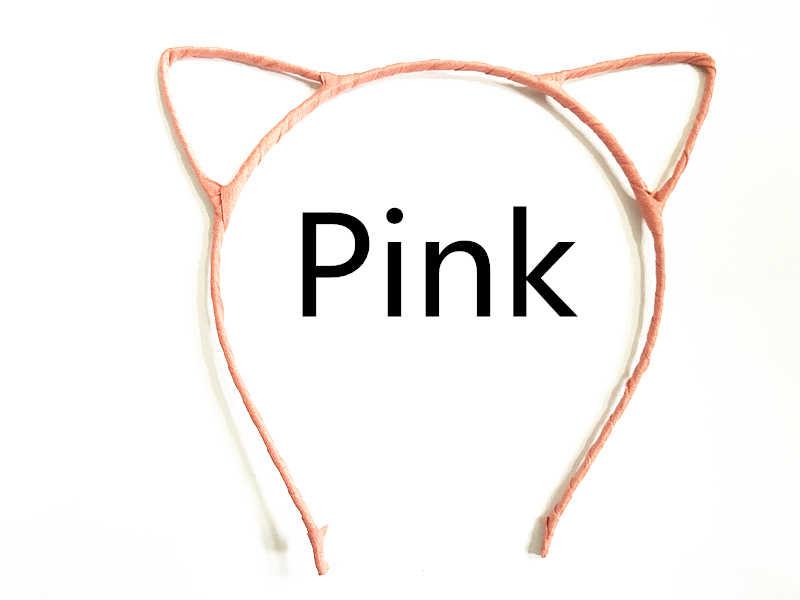 ของแมวหูคลิปผมสำหรับผู้หญิงหูแมวH Airpinsห่วงสำหรับอุปกรณ์ผมสำหรับผู้หญิงDiademas Pelo Orelhas De Gato TS1108