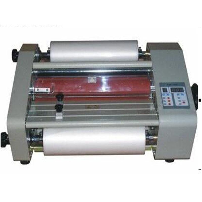 FM-360 paper laminating machine,students card,worker card,office file laminator,Steel roll laminating machine