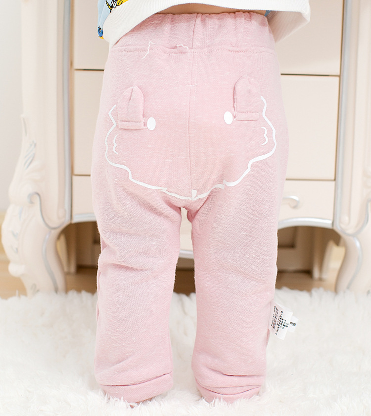 2017 spring new arrival cute Infant Baby Boys Girls back cartoon Bottom Harem Pants Leggings Pants Trousers for 0-24M drop ship (11)