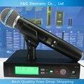 На складе России SLX24 BETA58 Высокое Качество SLX Беспроводной 58A Портативный Беспроводной Микрофон Караоке Системы