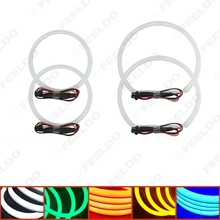 4Pcs/set Car Angel Eye Light Halo Ring Cotton Light Error Free LED SMD For BMW E46 NON Projector 5-Color #FD-1465