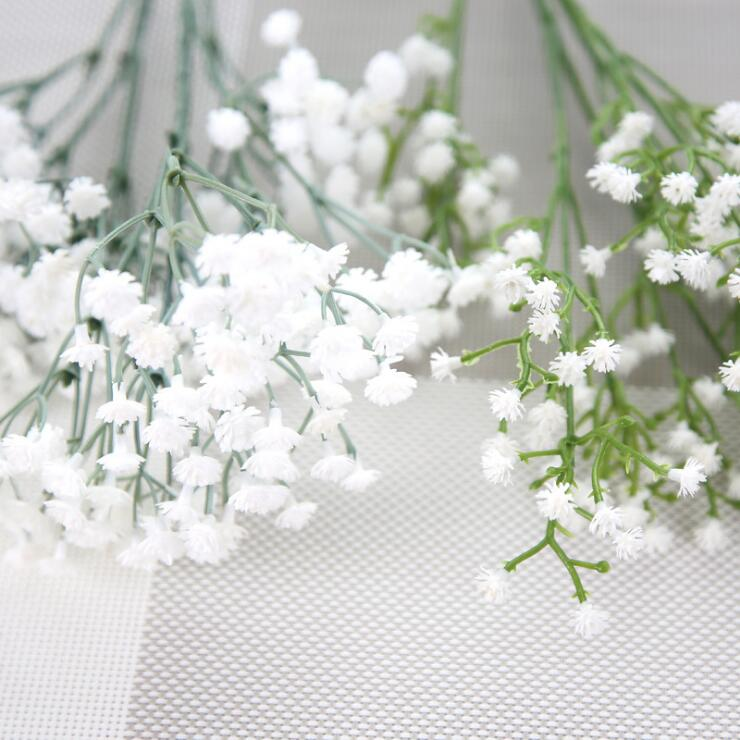 Artificial flowers pe artificial bouquet small white flowers for since mightylinksfo