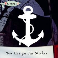 цена на 10*14CM Rustic Anchor Decal Car Stickers Adhesive Vinyl Car Styling Decals Window Decorative Sticker On Car