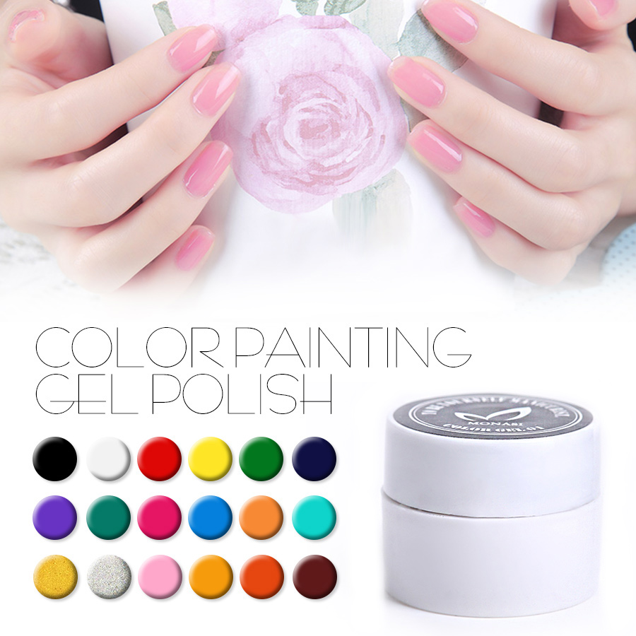 Color harmony online - Soak Off Color Paniting Gel Camouflage Glue Nail Polish Harmony Colors Uv Gel Nail Art Tips Summer Decoration Hot Sale Nail Gel