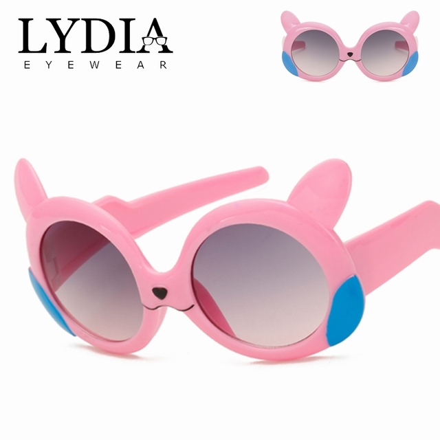 b88dd50989 2018 Christmas Gifts Promotions Children Fashion Sunglasses Cute UV400  Sunglass For Kids Cartoon Party Glasses For Baby L6144CJ
