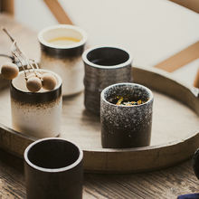 Простой керамический чайный стакан antowall в японском и корейском