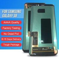 ACKOOLLA мобильных телефонов Дисплеи для samsung Galaxy S8 Мобильные аксессуары Запчасти дисплеев мобильных телефонов Сенсорный экран кронштейн