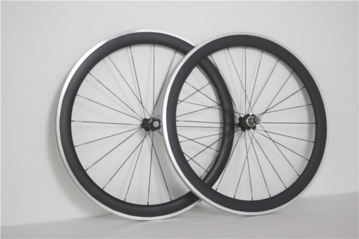 carbon bicycle bike wheels 50mm clincher/tubular roue T1000 road bike carbon wheelset Basalt V brake Front 20/Rear 24 Front 18(China)