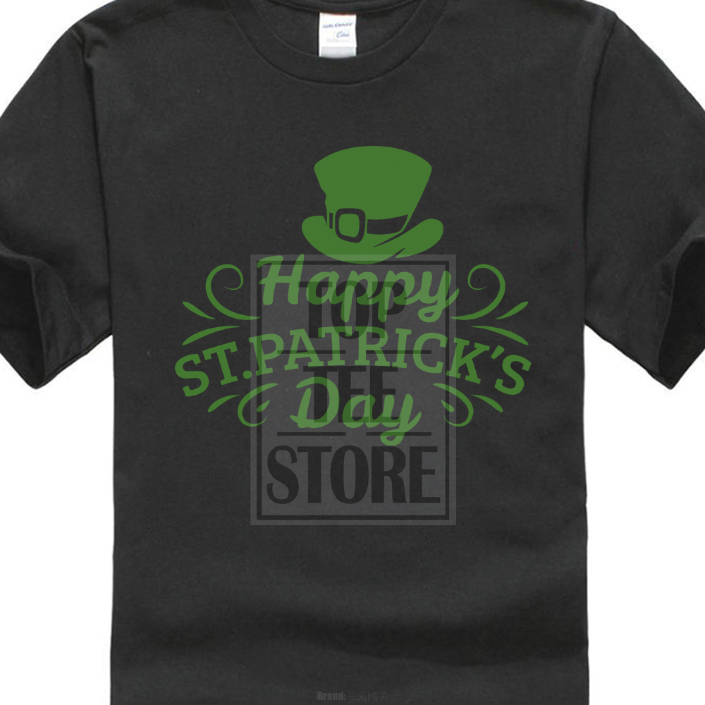 e5d1a9c9 2018 Summer Style Special Print Men Happy St Patrick'S Day Tee Shirt  Ireland Paddy Green Top Dublin Patricks Party T Shirts-in T-Shirts from Men's  Clothing ...