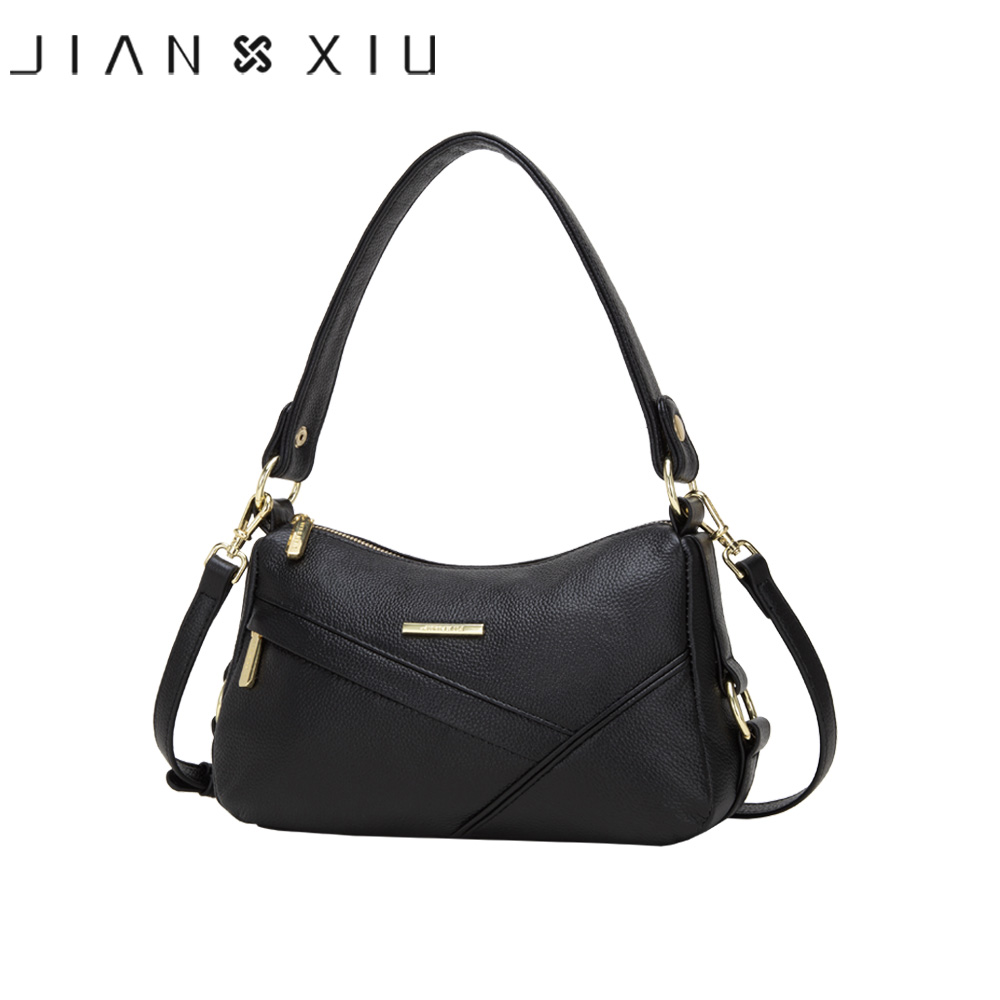 JIANXIU Genuine Cow Leather Luxury Handbags Women Bags Designer Shoulder Crossbody Bag For Women 2019 Purse