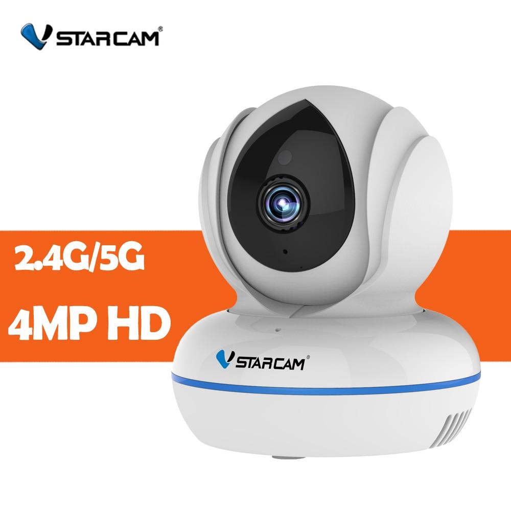 Vstarcam 4MP Full HD 2,4g 5G WiFi cámara de visión nocturna Mini vigilancia seguridad Monitor de bebé C22Q