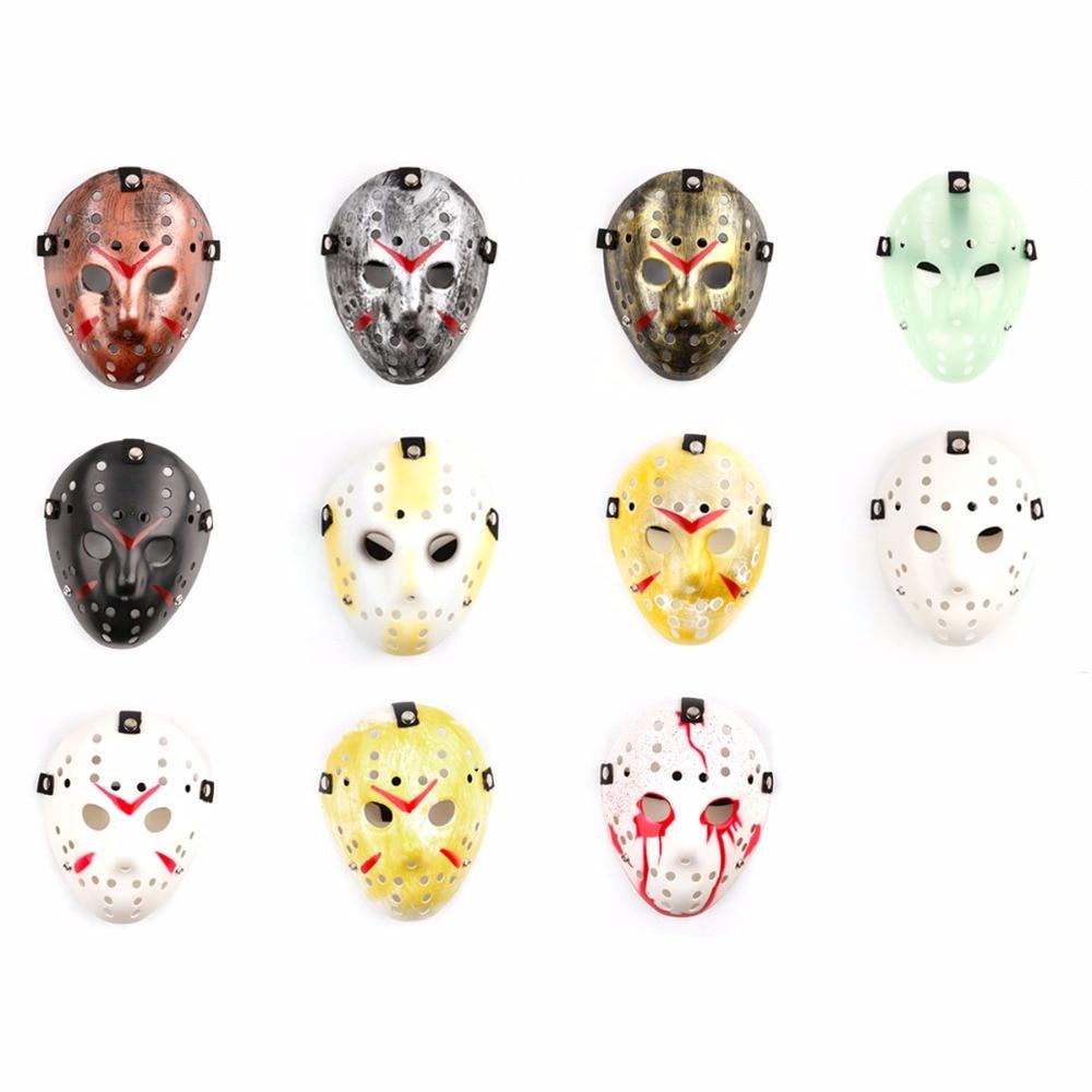 Or Vintage Party Masks Dédié Jason Voorhees Freddy Festival De - Pour les vacances et les fêtes - Photo 2
