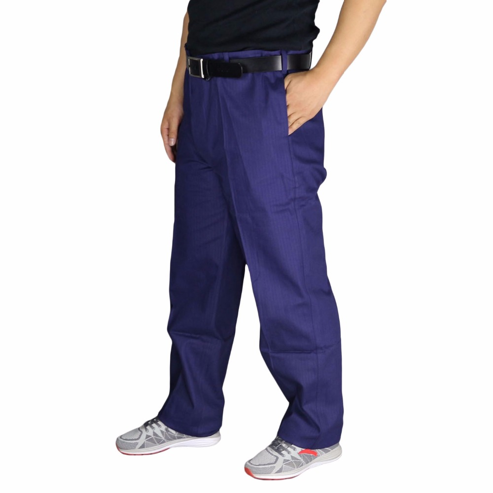 Men's work pants loose plus size high quality mens working trousers wear-resistance welding repairman labor cotton cargo pants