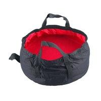 Farbe Zufällig!!! 1PC Nützliche Faltbare Wasserdichte Tuch Camping Eimer Falten Eimer Waschen Becken Tragbare Eimer Wasser Topf|portable bucket|folding bucketcamping bucket -