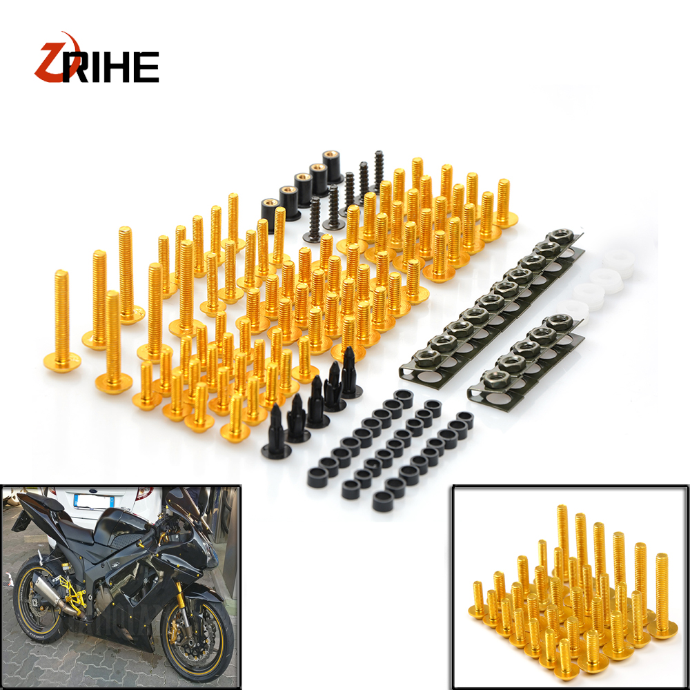 Motorcycle Accessories Fairing windshield Body Work Bolts Nuts Screws for Aprilia DORSODURO 1200 750 RST1000 FUTURA SHIVER GT