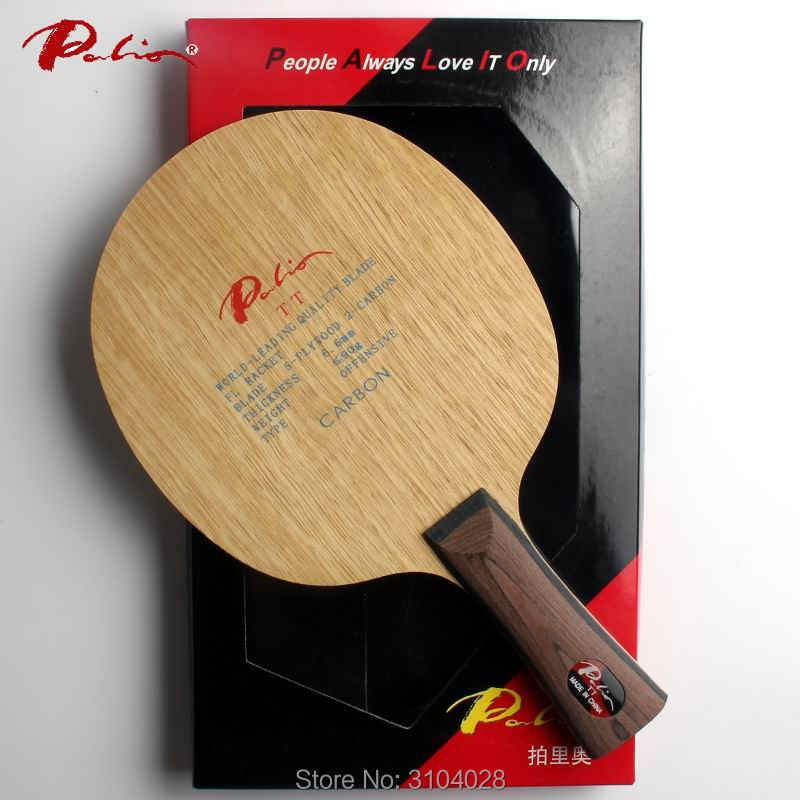 Palio official TT table tennis balde carbon blade fast attack with loop good speed and hold ball ping pong game