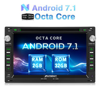 Pumpkin 2 Din 7 Android 7 1 Car DVD Player GPS Navigation Bluetooth Car Stereo For
