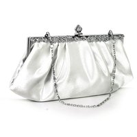 5 Pcs Of Ivory Party Clutch Bag Banquet Handbag Dress Wedding Bag