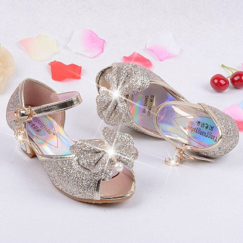 Nieuwe zomer prinses sandalen kinderen muiltjes klompen schoenen - Kinderschoenen - Foto 2