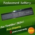 Jigu 6 células bateria do portátil para toshiba satellite a665d c640 c640d c645d c650 c655 c655d c660 c660d