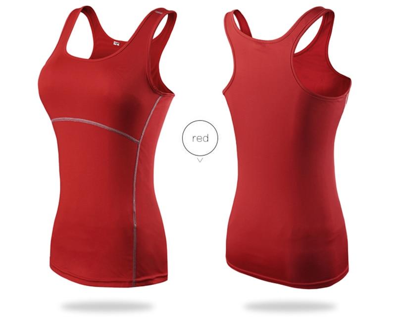 Women's Yoga Tops Sexy Gym Sportswear 18