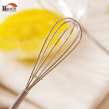 CUSHAWFAMILY Multifunction Manual Stainless Steel ceramic Handle Egg Beaters Milk Cream Butter Whisk Mixer Stiring Kitchen Tool
