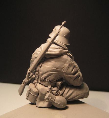 1 16 figuras de resina modelo kit