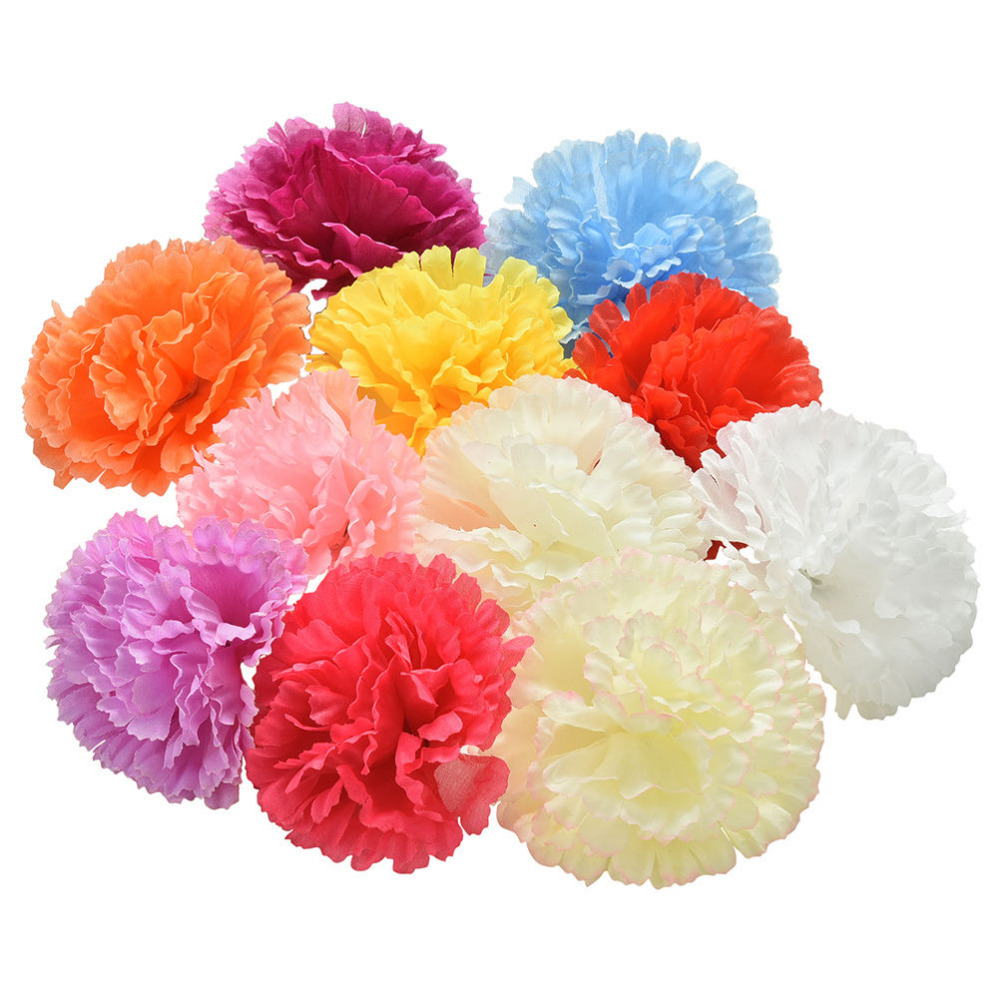 Compare prices on silk flower heads bulk online shoppingbuy low 10 pcsset silk spherical carnation heads bulk home party wedding decor gifts artificial daisy dhlflorist Choice Image