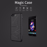For Oneplus 5 One Plus 5 Nillkin Qi Wireless Charging Receiver Charger Case Accessories Back Shell