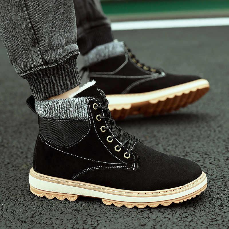 IPCCM/2018 г.; зимняя теплая обувь на высоком каблуке из хлопка; мужские ботинки из замши и бархата