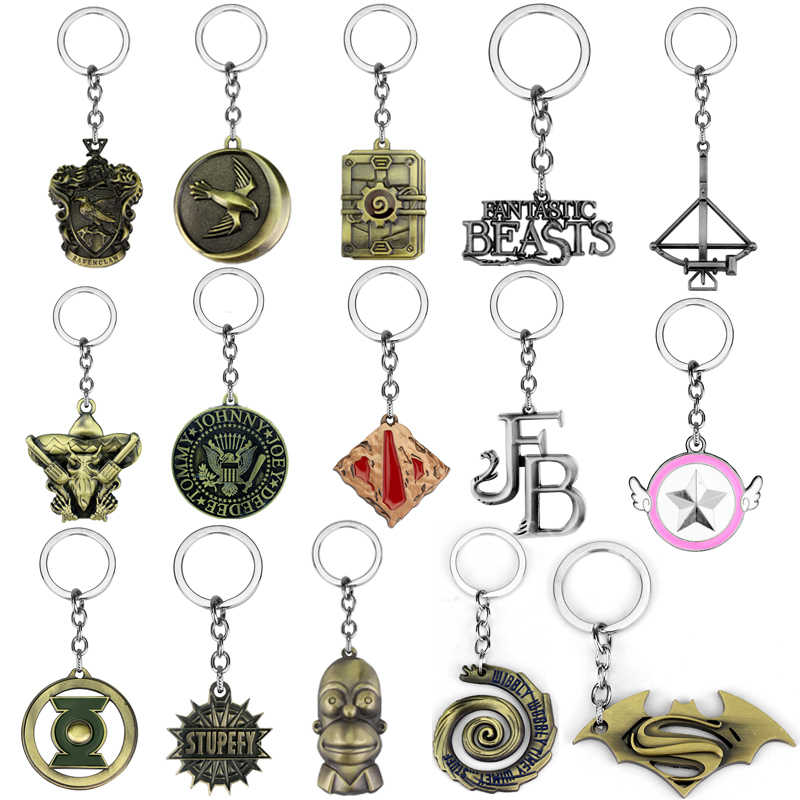 Warehouse Clearance Products Game of Thrones High Quality Movie Keychain Low Price Cheap Hip-hop Punk Vintage Jewelry For Men