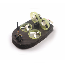Tiny whoover TW65 FPV Racer Hovercraft Drift Truck Car Integrated with Frsky Receiver OSD LED RC Helicopters Frame Kit