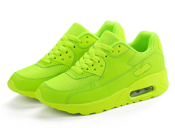 Zapatillas deportivas de malla transpirable para hombre y mujer, calzado para correr