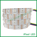 Addressable rgb led tape light apa102 5050 60 led strip light