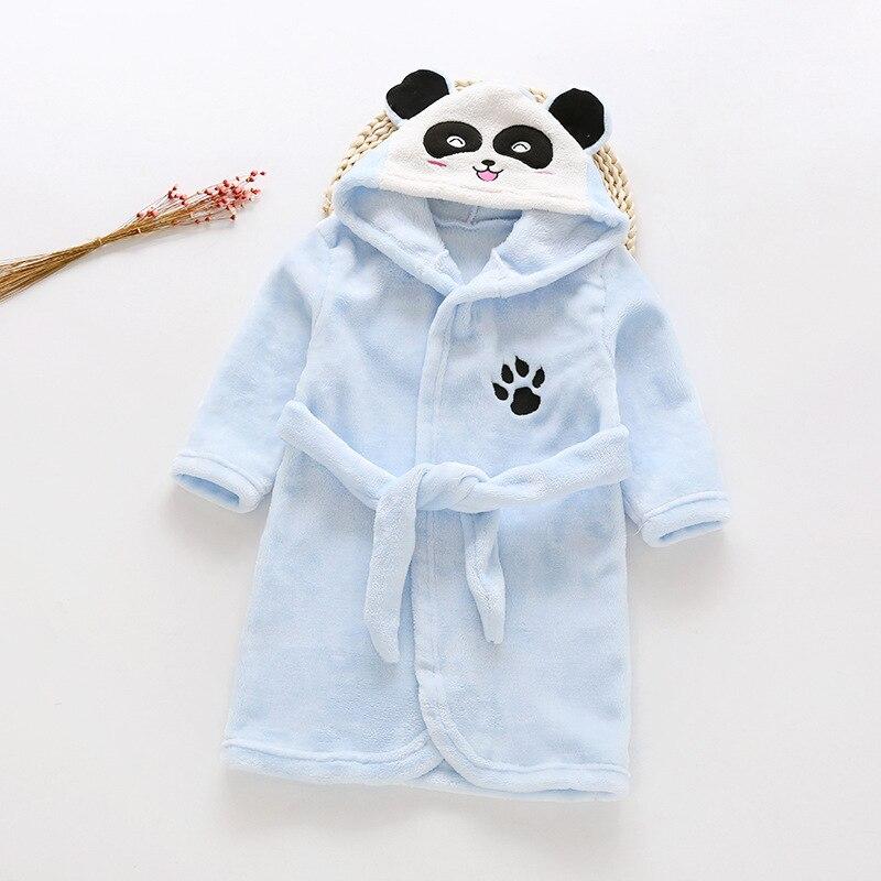 Baby Bathrobe Pijama Sleepwear Winter Children Kids Clothes Jumpsuits Cotton New