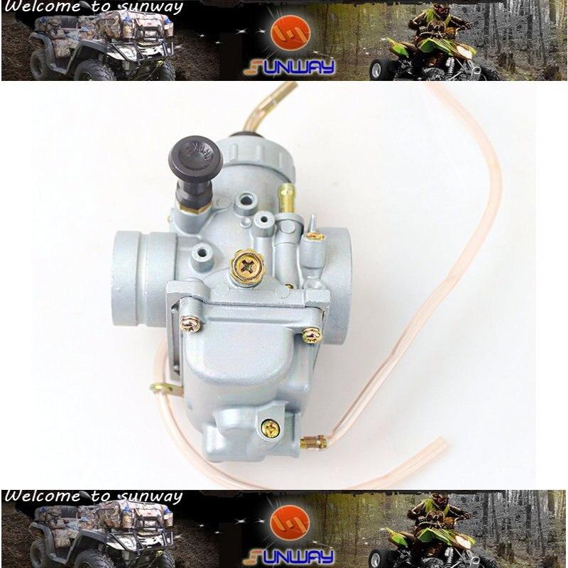ФОТО Dirt Bike Carburetor for YAMAHA TTR125 TZR125 and DT125 Dirt Bike Engine  Carburetor Free Shipping