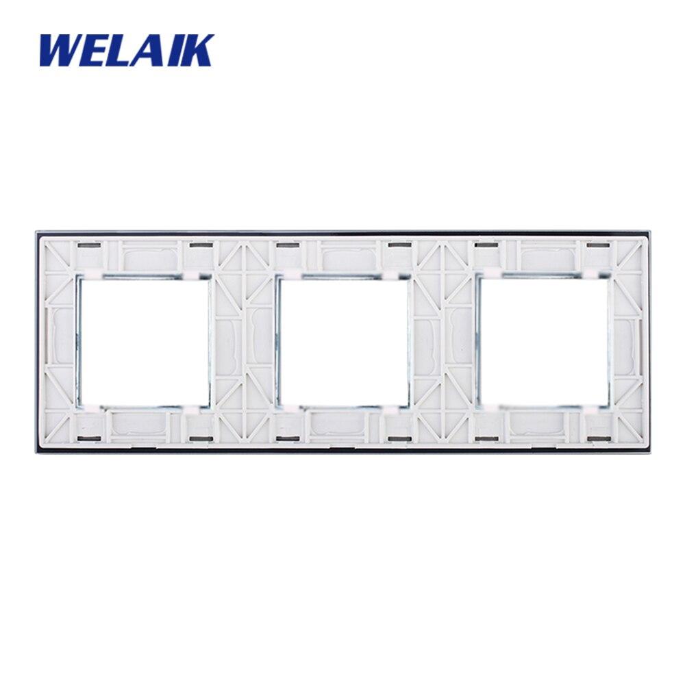 Interruptores e Relés de cristal quadrados buraco a3888w1/b1 Material : Toughened Glass