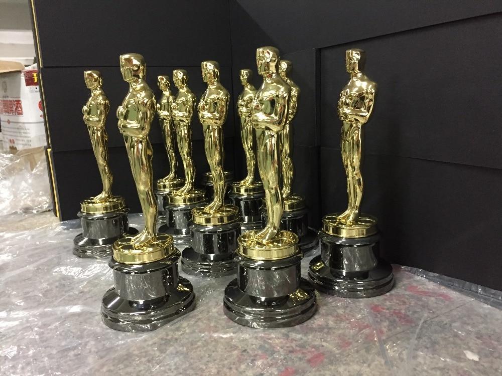 1 1replica oscar awards metal oscar trophy 24k gold for Oscar home