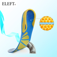 ELEFT Silicone Gel Insoles Comfortable Shoe Insoles Shock Absorption For Men Insoles And Women Insoles And