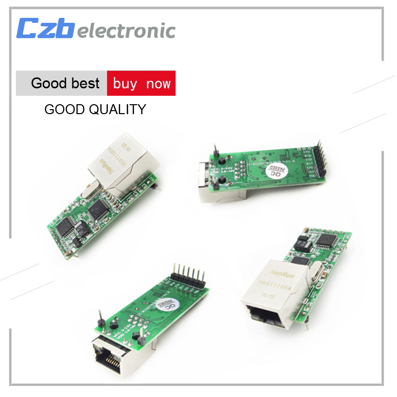 Ethernet для TTL Серийный TTL RS232 в TCP/IP Конвертер RJ45 Модуль Передачи