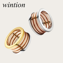 Wintion BGL s925 ring gift 1:1 Original 100% 925 Sterling Silver Women Free Shipping Jewelry High-end Quality Gift Have logo