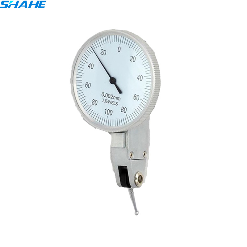 0-0.2mm Lever Dial Test Indicator Precision Dial Indicator Lever Dial gauge 0.002mm dial test holder indicator guanglu dial indicator 0 0 8mm 0 01mm dial test indicator dial test gauge measurement instrument measure tools