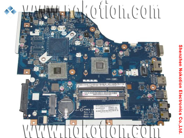NOKOTION LA-7092P Laptop Motherboard for Acer aspire 5253 DDR3 RAM MBNCV02004 Mother Board laptop motherboard for aspire one 522 ao522 p0ve6 la 7072p mbsfh02001 amd c60 ddr3