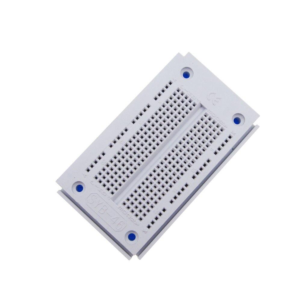 Solderless PCB Bread Board 23x12 SYB-46 Test Develop Breadboard 270 Points NEW