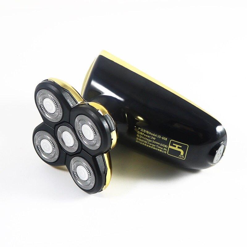 2 en 1 rasoir hommes rasoir électrique Rechargeable rasoir électrique 5D tondeuse Machine à raser tondeuse à barbe flottante