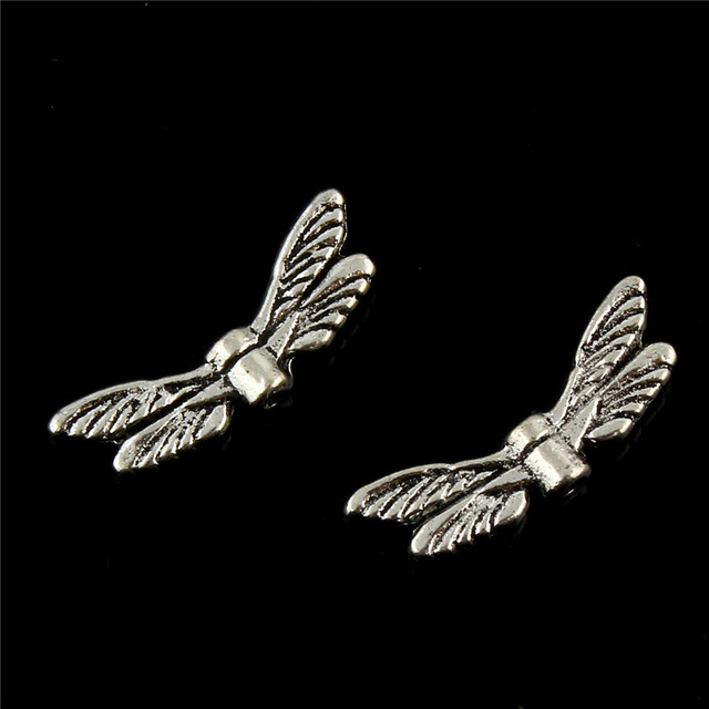 20pcslot antique silver dragonfly wings pendant charms jewellery 20pcslot antique silver dragonfly wings pendant charms jewellery findings 206mm fit vintage aloadofball Image collections